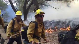 Ventura County Fire Crew Video 2015