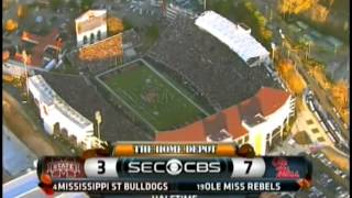 2014 Egg Bowl Ole Miss 31 v MSU 17