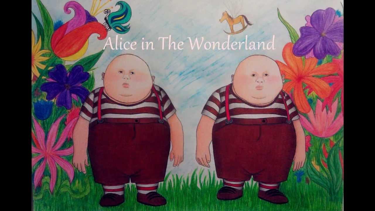 Alice In Wonderland Twins
