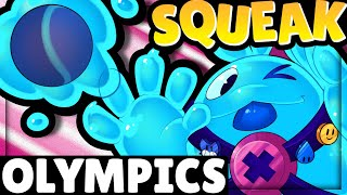 SQUEAK OLYMPICS! | 15 Tests! | Squeak will BREAK the GAME!!!