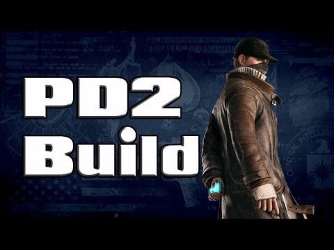 [Payday 2] Aiden Pearce (Watch Dogs) Build