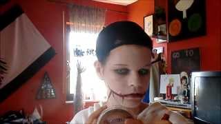 Jeff The Killer make-up (cheap/easy) Cosplay