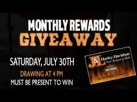 July Rewards Giveaway