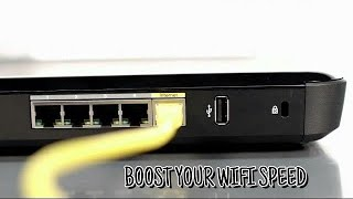 How To Speed Up Your Internet SPEED 1000x Faster - BOOST Your WI-FI Speed