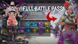 All Legacy Battle Pass Rewards In Apex Legends Season 9|معاينة باتل باس سيزون ٩ ايبكس لدجنز
