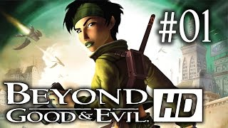 Beyond Good and Evil HD Let's Play - Episode 1 : Jade et Pey'j