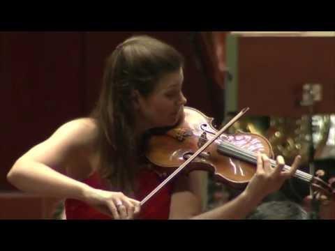 Janine Jansen performs Tchaikovsky's violin concerto live in 2013