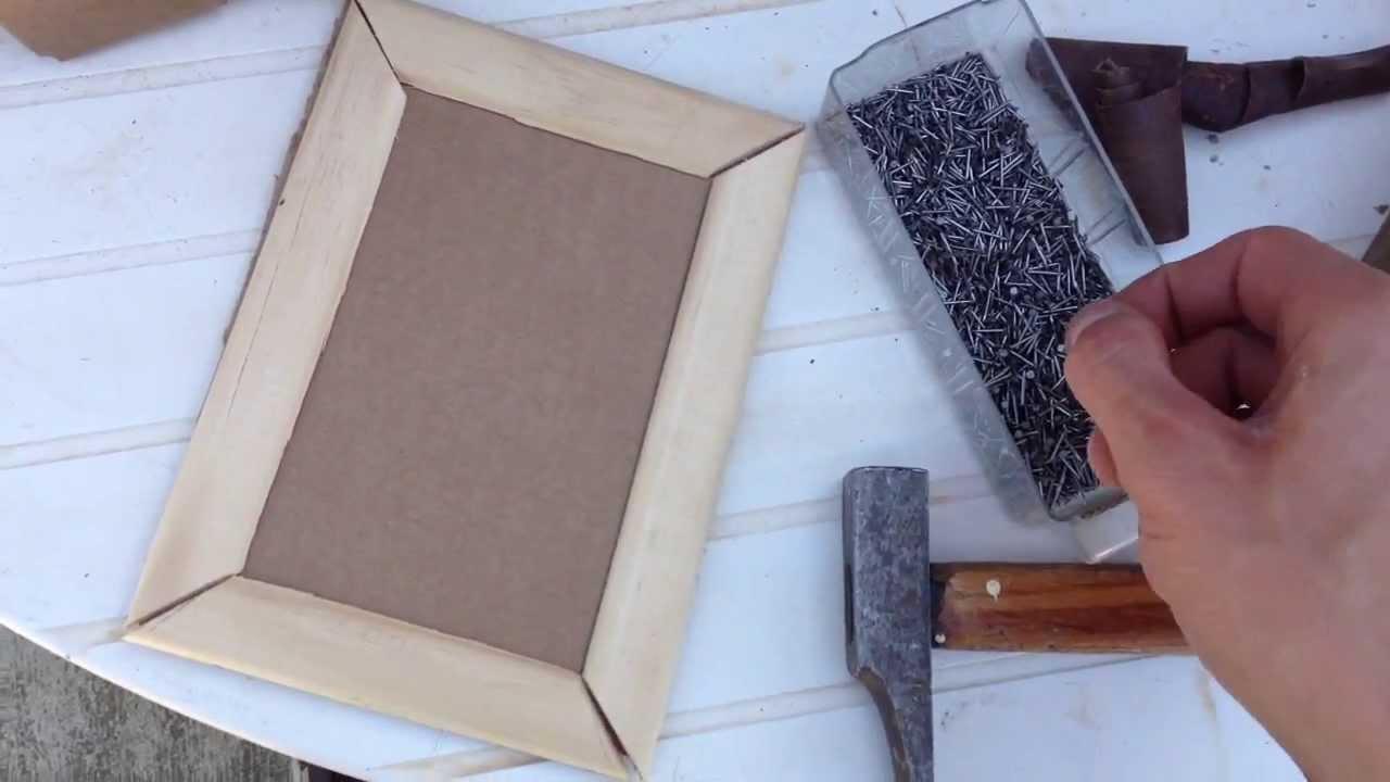 fabriquer un cadre fabriquer un cadre photo soi m me. Black Bedroom Furniture Sets. Home Design Ideas