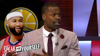 Stephen Jackson on Cousins to Golden State and Lakers free agency options | NBA | SPEAK FOR YOURSELF