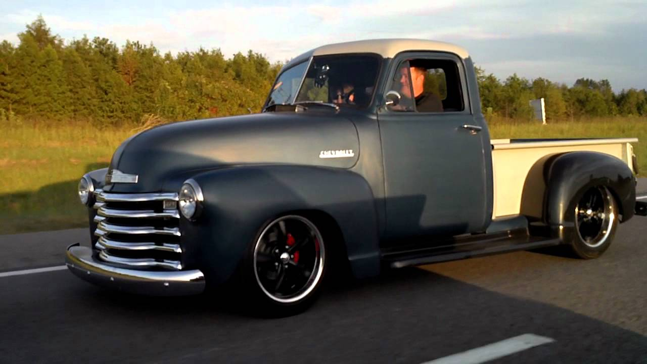 1950 Chevy Trucks On S10 Frames