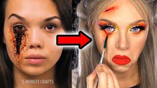 Makeup Artist Tries 5 MINUTE CRAFTS SFX Hacks