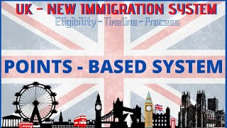 🇬🇧 UK- NEW immigration System 2020 🔥 Point-Based System