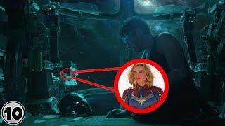 Top 10 Easter Eggs You Missed In Avengers: EndGame Trailer
