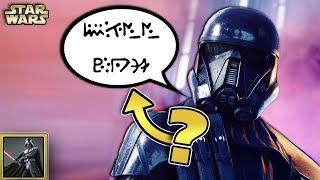 Star Wars Basis Community: Warum sind die Stimmen der Death Trooper so verzerrt? [News, Q&A]