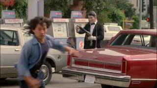 Point Break - Chase Scene (Car & Foot Chase) (HQ) High Quality