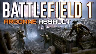 Battlefield 1: Assault on Argonne - 54 Kills (PS4 PRO Multiplayer Gameplay)