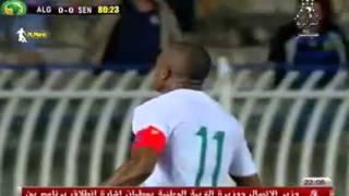 أهداف المباراة الودية بين     الجزائر   1 - 0     السنغال   // Mr Incn     -