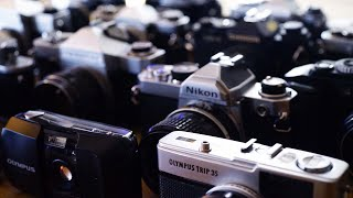 Twelve FANTASTIC Film Cameras - My Guide To Buying Your First!