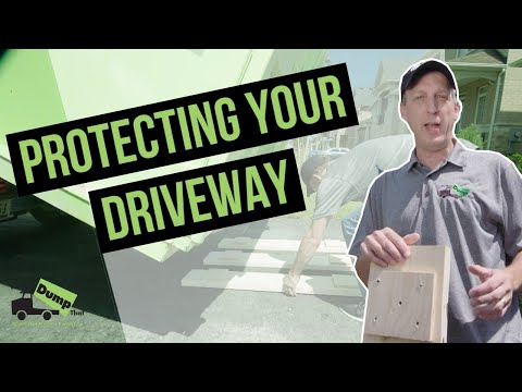 Bin There Dump That Driveway Protection System