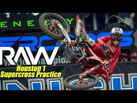 Houston 1 Supercross Practice RAW - Motocross Action Magazine