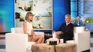 Taylor Swift on Her New Cat!