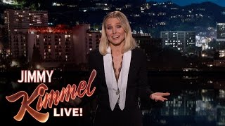 Kristen Bell's Guest Host Monologue on Jimmy Kimmel Live