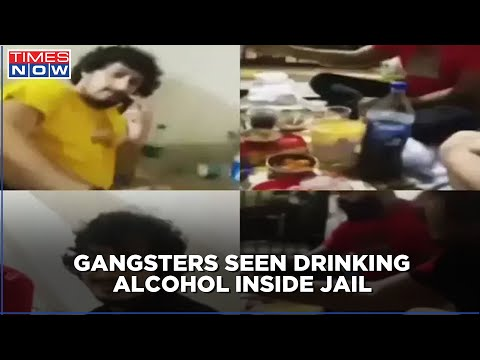Video of gangsters partying inside a lockup in Delhi goes viral