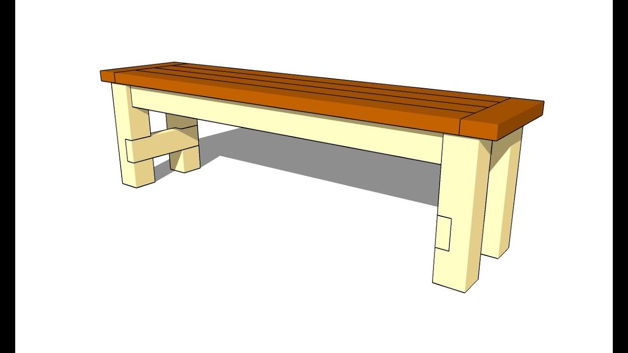 How To Build A Bench Seat Youtube