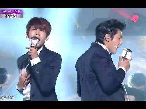 2014 MBC 가요대제전 - 동방신기(TVXQ), 수리수리(Suri Suri) + Something 20141231