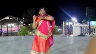 Women Hare Krishna naam