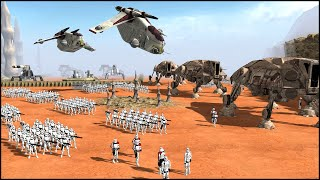 CLONE TASK FORCE - Star Wars: Galaxy at War Mod Gameplay