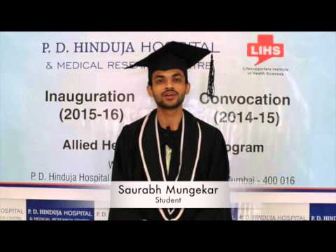 AHS Students Speak About their Experience at P.D. Hinduja Hospital