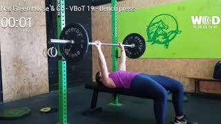 Wod 19.3 VBOT - Nat Greenhorse & Co - Bench Press