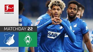 TSG Hoffenheim - SV Werder Bremen   4-0   Highlights   Matchday 22 – Bundesliga 2020/21