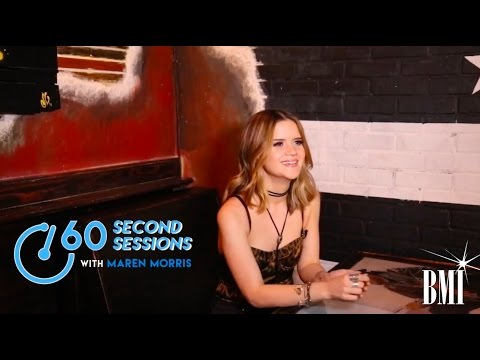 Maren Morris Talks 'My Church', Emojis and Hot Messes | 60 Second Sessions