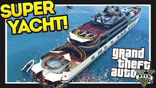 GTA 5 $28,000,000 Spending Spree! GTA 5 Super Yacht!! Executives and Other Criminals Part 1