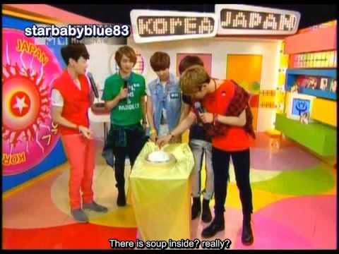 [ENG] 120701 SHINee on MTV Taiwan