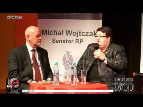 Henryka Krzywonos w Grudziądzu - całe spotkanie