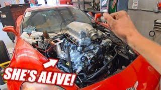 The Auction Corvette is REBORN w/Her
