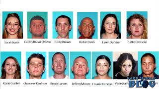50  Aryan Brotherhood Fresnecks Gang Members arrested in Fresno County (California)