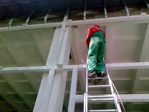 Примеры нанесения Изоллата с помощью окрасочного аппарата (видео 2)