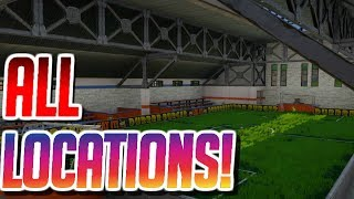 FORTNITE ALL PITCH LOCATIONS! (WEEK 7 CHALLENGE)