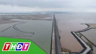 Đang thử tải cầu vượt biển dài nhất Việt Nam | THDT