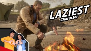 LAZIEST GAME CHARACTER | GTA Village Edition | SlayyPop