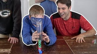 Dice Stacking and Trick Shot Challenge   That's Amazing and Jake & Josh