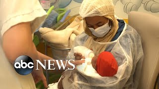 Mali mother who gave birth to nonuplets calls them 'gift from God'