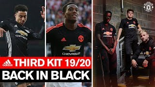 Back in Black   Manchester United Third Kit 2019/20   adidas