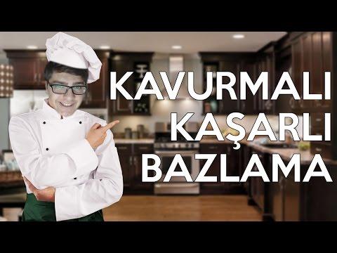 KAVURMALI KAŞARLI BAZLAMA! - BURAK MUTFAKTA