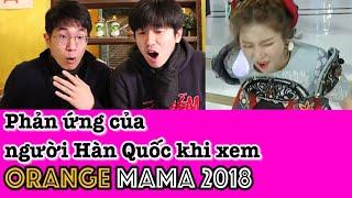 """Phản ứng của người Hàn Quốc khi xem Orange MAMA 2018 """"Người lạ ơi"""" (reaction)"""