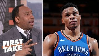 Stephen A. to Russell Westbrook: 'Stop taking those shots'   First Take